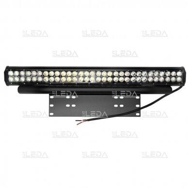 Laikiklis LED žibinto ir valstybinio numerio (juodas) 3