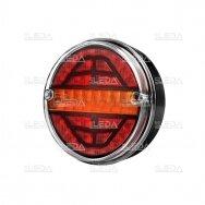 LED galinis žibintas su 3 funkcijomis, 12-24V (kairinis)