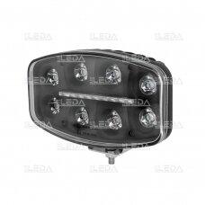 LED darbo/ tolimųjų šviesų žibintas 80W Siauro spindulio