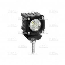 LED darbo žibintas 10W, (plataus spindulio) R10, EMC