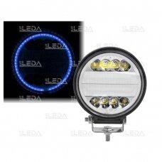 LED Darbo Žibintas 30W combo, mėlyna angelo akis EMC