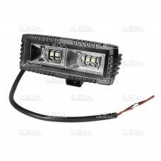 LED darbo žibintas 40W, (plataus spindulio), CREE