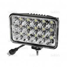 LED Darbo Žibintas 45W Hi/Low Beam EMC