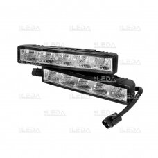 LED DRL dienos šviesos žibintai E4, R87, 307
