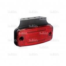 LED šoninis žibintas - atšvaitas, raudonas