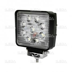 LED Darbo Žibintas 27W Plataus spindulio EMC