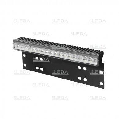 LED BAR Sertifikuotas žibintas su laikikliu 50W 4000lm L=38cm