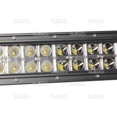 LED BAR Žibintas 120W 8000lm Combo L=62cm 3