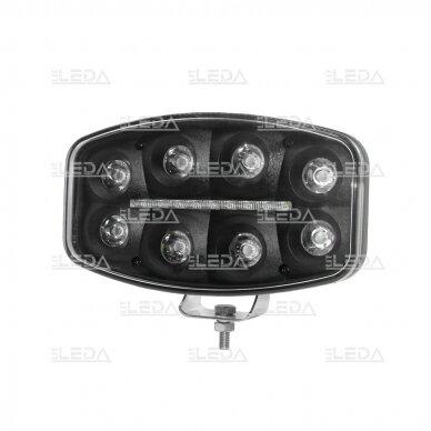 LED darbo/ tolimųjų šviesų žibintas 80W Siauro spindulio 2