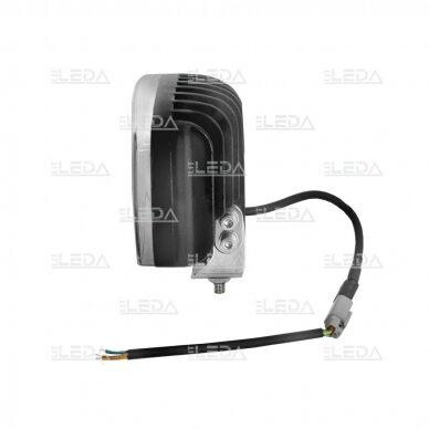 LED darbo/ tolimųjų šviesų žibintas 80W Siauro spindulio 3