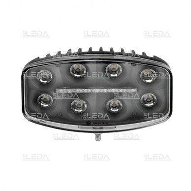 LED darbo/ tolimųjų šviesų žibintas 80W Siauro spindulio 5
