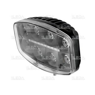 LED darbo/ tolimųjų šviesų žibintas 80W Siauro spindulio 6