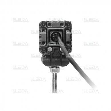 LED mini darbo žibintas 10W, (plataus spindulio) R10, EMC 3