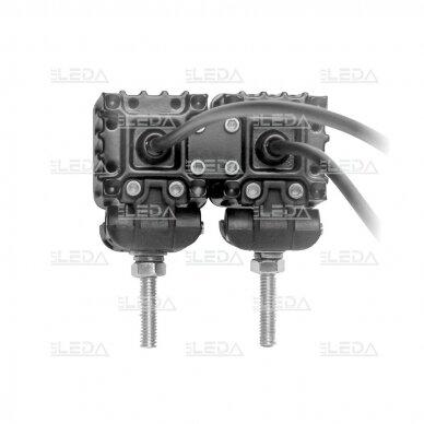 LED mini darbo žibintas 10W, (plataus spindulio) R10, EMC 5