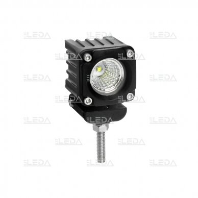 LED mini darbo žibintas 10W, (plataus spindulio) R10, EMC