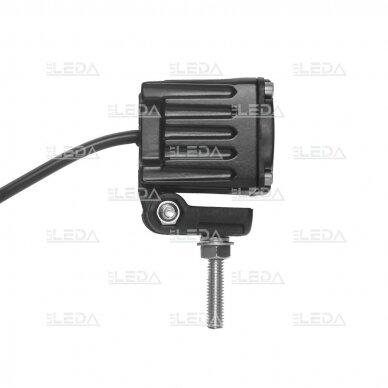 LED mini darbo žibintas 10W, (plataus spindulio) R10, EMC 2