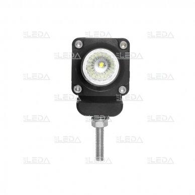 LED mini darbo žibintas 10W, (plataus spindulio) R10, EMC 4