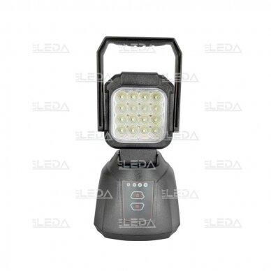 LED Darbo Žibintas 16W Pakraunamas 3