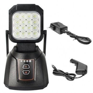LED Darbo Žibintas 16W Pakraunamas 5