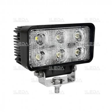 LED Darbo Žibintas 18W Plataus spindulio EMC
