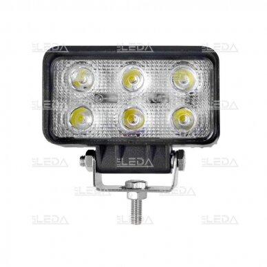 LED Darbo Žibintas 18W Plataus spindulio EMC 2
