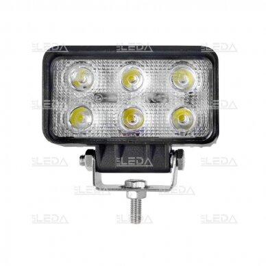 LED Darbo Žibintas 18W Siauro spindulio EMC 2