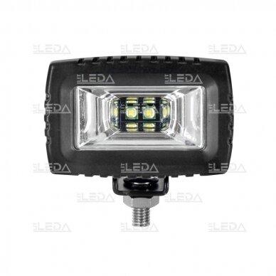 LED darbo žibintas 20W, (plataus spindulio) CREE 2