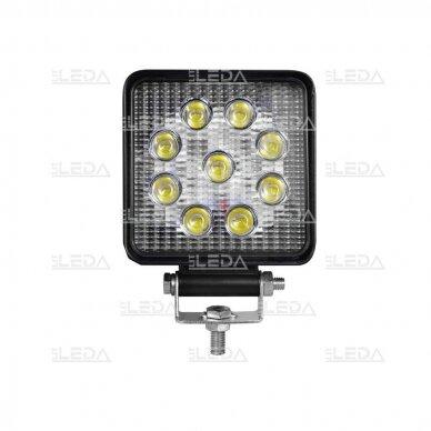LED Darbo Žibintas 27W Plataus spindulio EMC 2