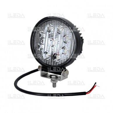 LED Darbo Žibintas 27W Plataus spindulio EMC 4
