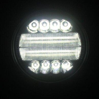 LED Darbo Žibintas 30W combo, mėlyna angelo akis EMC 8