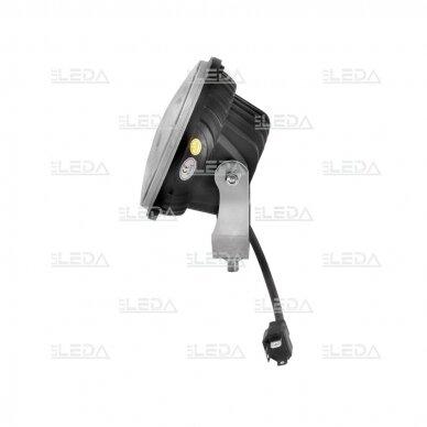 LED darbo žibintas 36W, (combo spindulys, apvalus korpusas) 3