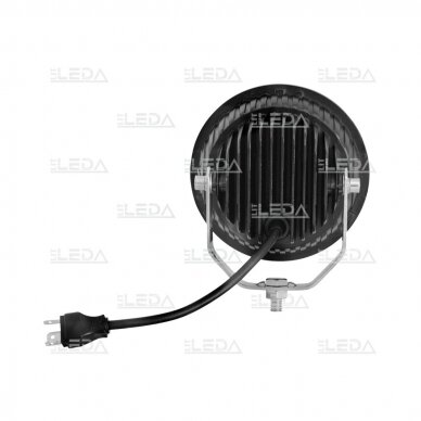 LED darbo žibintas 36W, (combo spindulys, apvalus korpusas) 2