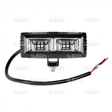 LED darbo žibintas 40W, (plataus spindulio), CREE 3