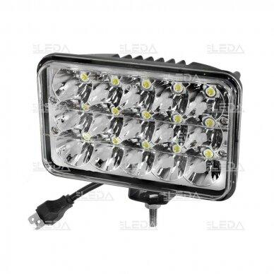 LED Darbo Žibintas 45W Hi/Low Beam