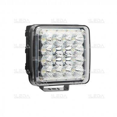 LED Darbo Žibintas 48W Kombinuoto spindulio EMC 2
