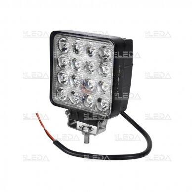 LED Darbo Žibintas 48W Plataus spindulio E9 EMC 2