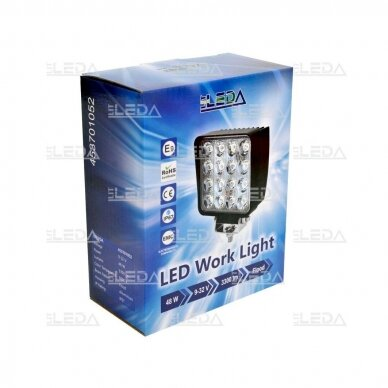 LED Darbo Žibintas 48W Plataus spindulio E9 EMC 5