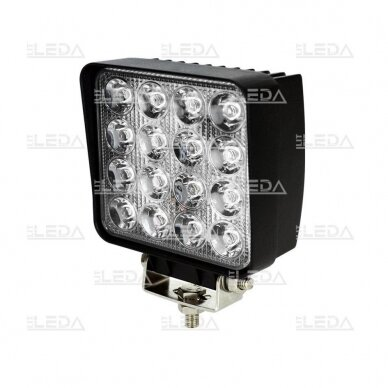 LED Darbo Žibintas 48W Plataus spindulio E9 EMC