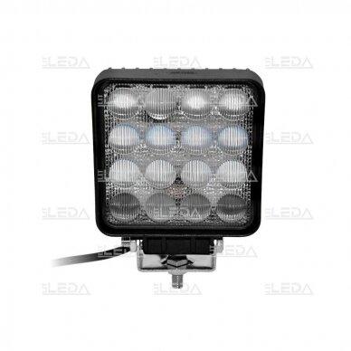 LED Darbo Žibintas 48W Plataus spindulio 5D lens EMC 3