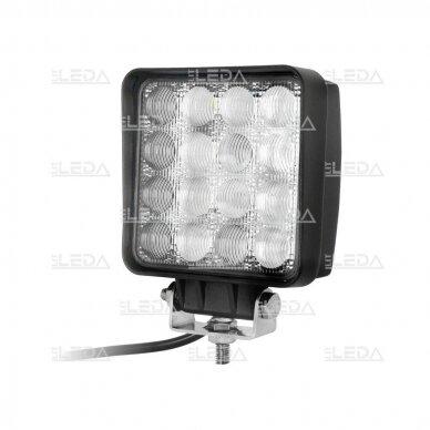 LED Darbo Žibintas 48W Plataus spindulio 5D lens EMC
