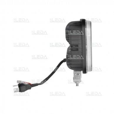 LED darbo žibintas 54W, (tolimo/artimo spindulio) EMC 3