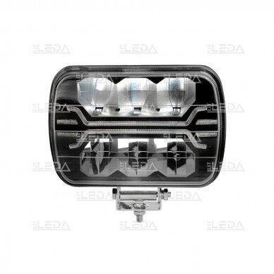LED darbo žibintas 54W, (tolimo/artimo spindulio) EMC 2