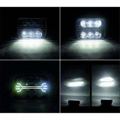 LED darbo žibintas 54W, (tolimo/artimo spindulio) EMC 6