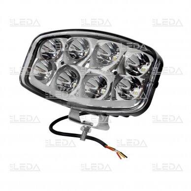LED Sertifikuotas Žibintas 64W Kombinuoto spindulio EMC DRL 2