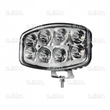 LED Sertifikuotas Žibintas 64W Kombinuoto spindulio EMC DRL