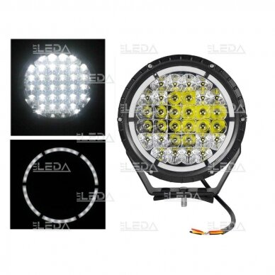 LED darbo žibintas 68W+5W; (combo+angelo akis) CREE; R112, R7, R10, EMC 3