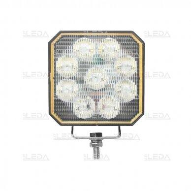 LED darbo žibintas su ON/OFF jungikliu 35W, OSRAM P8, plataus spindulio 2