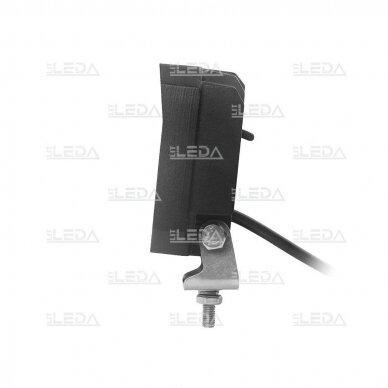LED darbo žibintas su ON/OFF jungikliu 35W, OSRAM P8, plataus spindulio 4