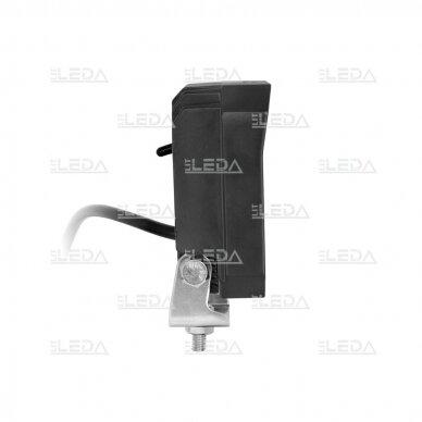 LED darbo žibintas su ON/OFF jungikliu 35W, OSRAM P8, plataus spindulio 3