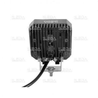 LED darbo žibintas su ON/OFF jungikliu 35W, OSRAM P8, plataus spindulio 5